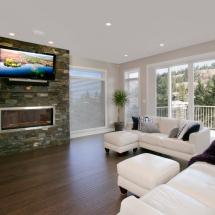 Kelowna, Okanagan Renovators | Accent Renovations Residential Renovations Living Room