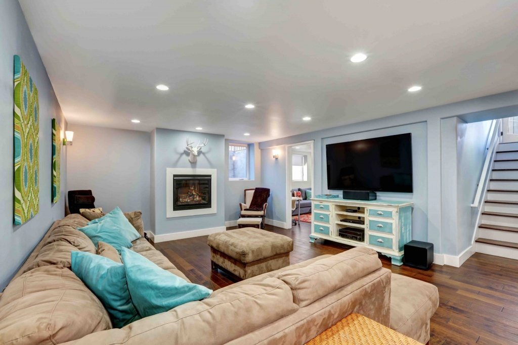 Beautiful Basement Reno Accent Renovations